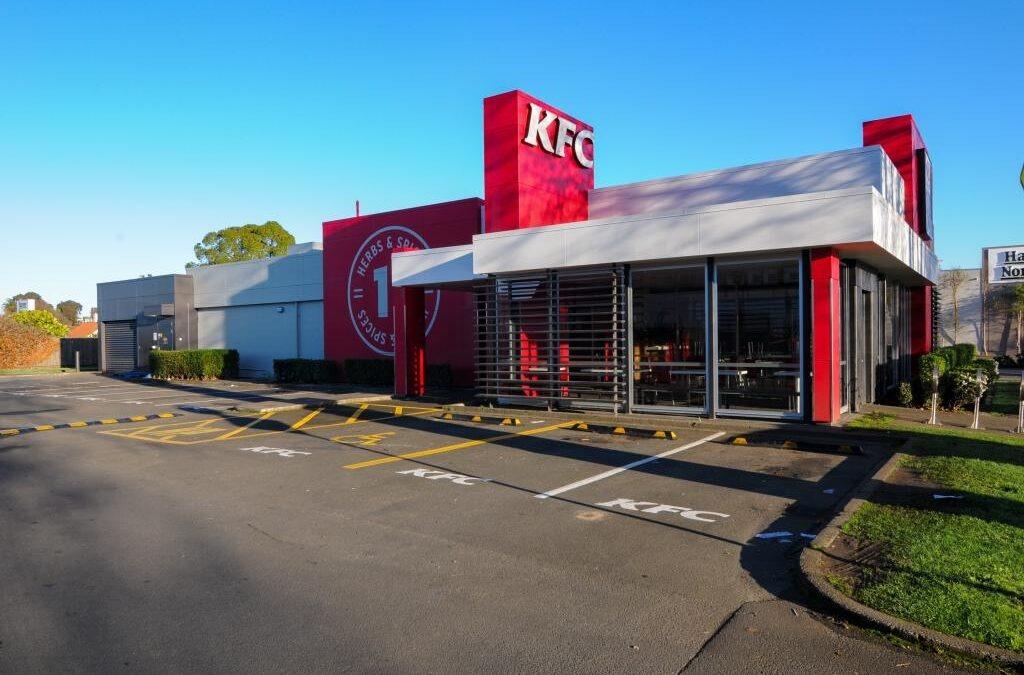 KFC refurbishment, Whanganui
